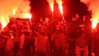 Photo of Fuertes protestas en varios países europeos contra las medidas sanitarias