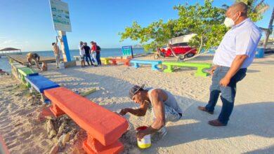 Photo of Así marchan los trabajos de remozamientos del Malecón de Montecristi